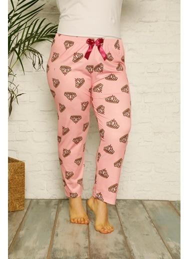 Akbeniz Pijama altı Pembe